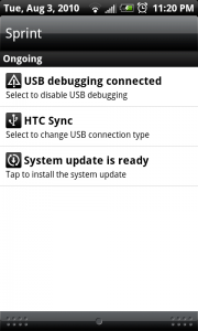HTC EVO 4G Update is Ready