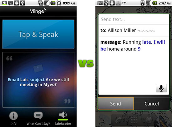Vlingo for Android Now Free After Google Releases Voice Actions