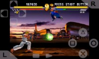 psx4droid PlayStation Emulator Playing Street Fighter Extreme 2