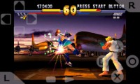 psx4droid PlayStation Emulator Playing Street Fighter Extreme 3