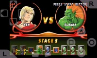 psx4droid PlayStation Emulator Playing Street Fighter Extreme 6