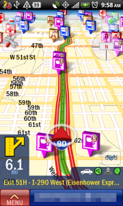 CoPilot Live Turn-by-Turn Map Directions