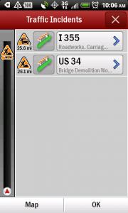 CoPilot Live Traffic Listing