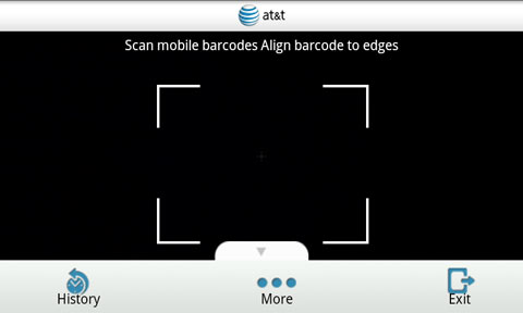 AT&T Code Scanner