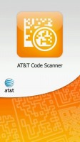 ATT Code Scanner Start Screen