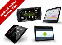 Android Tablet Buying Tips
