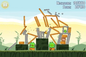 Angry Birds in Game Play 1