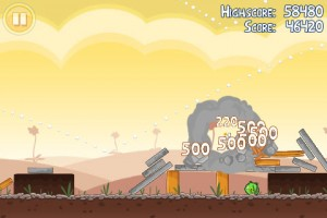 Angry Birds in Game Play 4