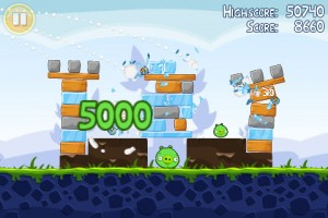Angry Birds in Game Play 5
