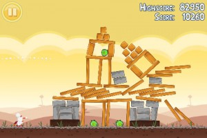 Angry Birds in Game Play 6