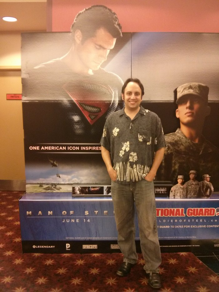 Jarrett Kaufman - Winner of Man of Steel Movie Tickets (2)