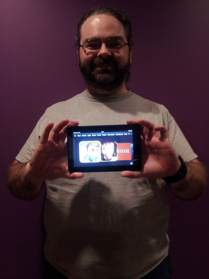 Lance Wingfield Winner of Kindle Fire Customize with The Simpsons Tapped Out Game