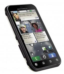 Motorola DEFY Angle View 2