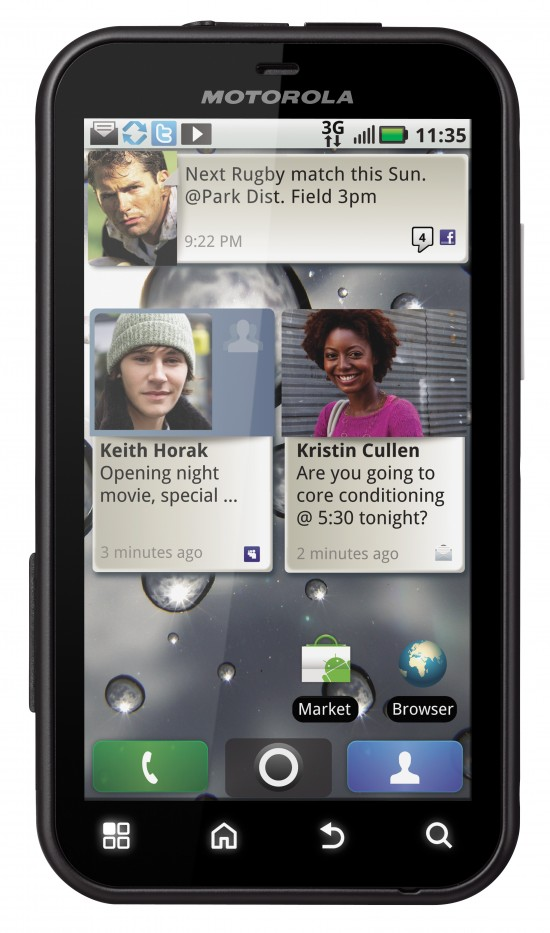 What Does Android, Oprah and Motorola have in Common? Motorola DEFY!