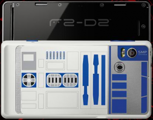 Motorola Droid 2 R2D2 Back Cover Slide Up