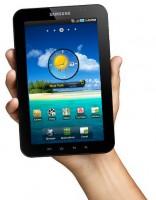 Samsung Galaxy Tab in Hand