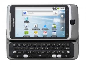 T-Mobile G2 Keyboard Open