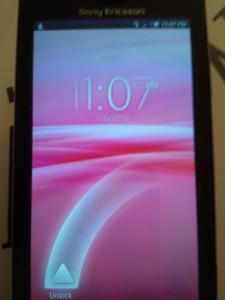 X10 Unlock Screen