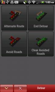 CoPilot Live Detour