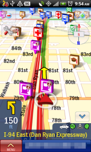 CoPilot Live Turn-by-Turn Map Navigation