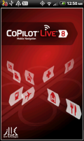 CoPilot Live Start Screen