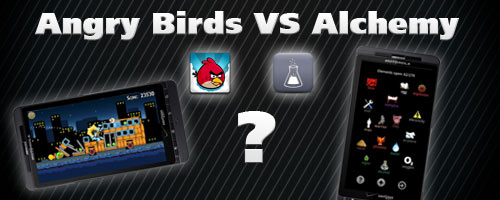 Angry Birds Versus Alchemy, Which Android Game is More Addictive [Poll]