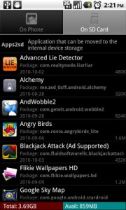 Apps2sd Pro Android Apps on SD Card