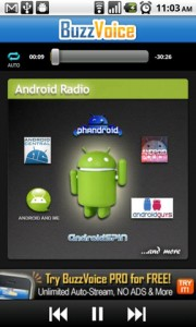 BuzzVoice Android Radio