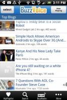 BuzzVoice Top Blogs