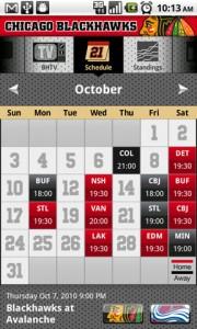 Chicago Blackhawks Schedule