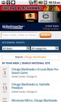 Chicago Blackhawks Ticket Purchases Through Ticketmaster Mobile