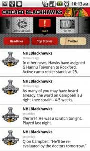 Chicago Blackhawks Twitter