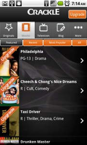 Crackle Featured Movies