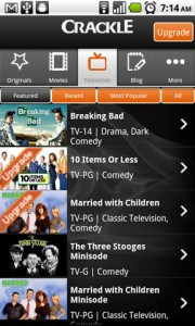 Crackle Featured Television