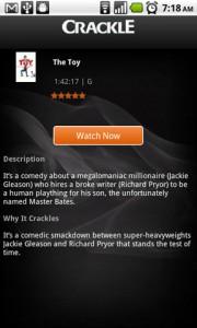 Crackle Movie Details