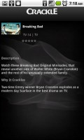 Crackle Television Show Details