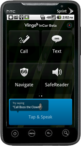 Vlingo InCar Android App Helps Keep Hands on the Wheel and Eyes on Road with Hands-free Voice Operation