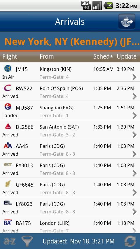 FlightView Flight Tracker