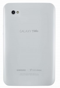 Galaxy Tab for U.S. Cellular Back View
