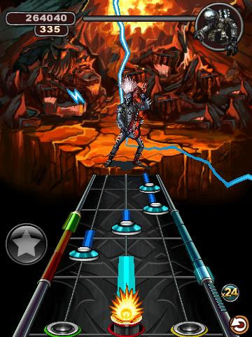 Guitar Hero 6: Warriors of Rock Hits the Android Market