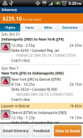 OnTheFly Itinerary Flight