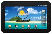 Samsung Galaxy Tab for Verizon Horizontal View