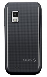 Samsung Mesmerize Back View