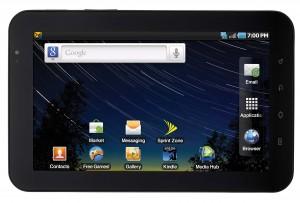 Sprint Galaxy Tab Horizontal Front