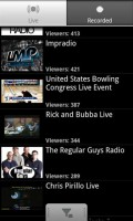 Ustream Viewer Live Broadcasts List