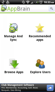 AppBrain v5: Sync Widget, Integrated Fast Web Installer, UI Improvements