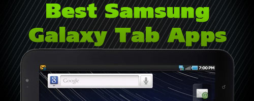 Best Samsung Galaxy Tab Apps