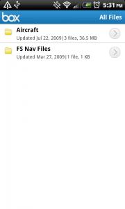 Box Net All Files