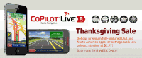CoPilot Live USA Thanksgiving Sale