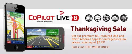 CoPilot Live USA Thanksgiving Week Sale